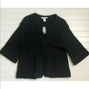 NWT White House Black Market Crop Chunky Sweater